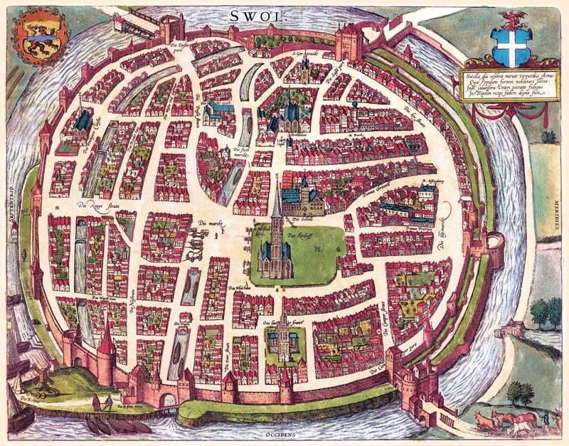 Swol - Braun & Hogenberg - 1581