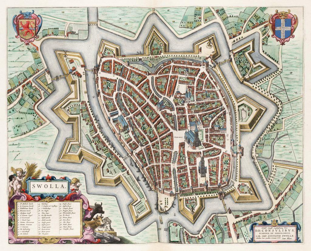 Swolla - Joan Blaeu - 1649