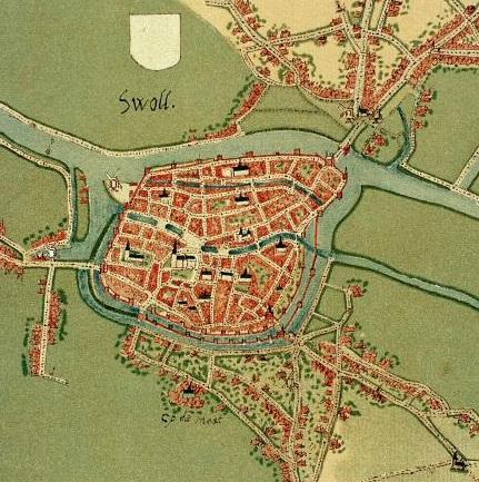 Swoll - Jacob van Deventer - Circa 1545